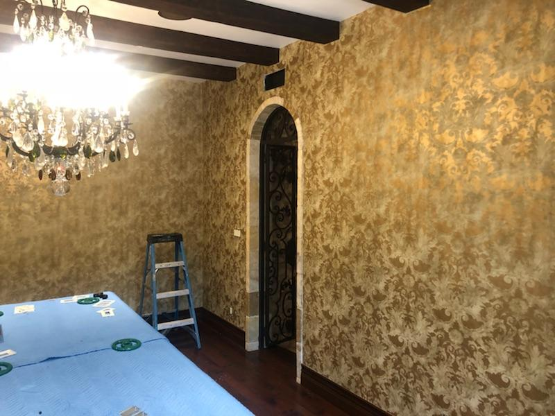 Model Home Wallcovering